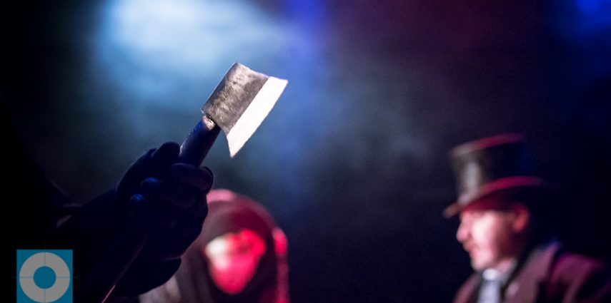 Four-time Off West End Award Nominated Arrows and Traps present a fantastic dramatic adaptation of Dostoyevsky's literary masterpiece Crime and Punishment. A tense psychological thriller is story of motive and murder.